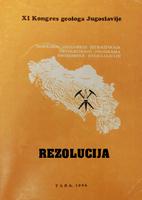 XI конгрес геолога Југославије - Резолуција
