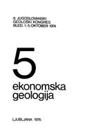VIII југословенски геолошки конгрес - Књига 5